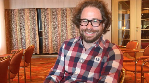 Jonathan Coulton, the singer-songwriter who puts the JoCo in JoCo Cruise each year.