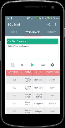 Download SQL Mini-SQLite DB,Android SQL Google Play softwares