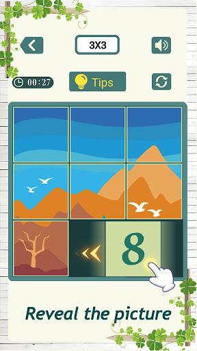 Numpuz2 - Slide Number Picture Puzzle 1.102 screenshots 2