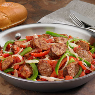 Johnsonville Italian Sausage, Peppers & Onions Skillet
