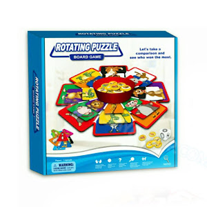 Joc educativ Rotating Puzzle