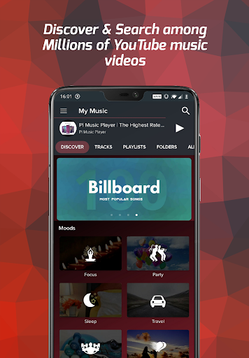 Pi Music Player - MP3 Player, YouTube Music Videos 3.0.3 screenshots 1