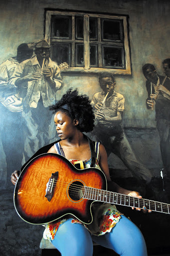 Eastern Cape musician Zahara's debut CD, 'Loliwe', has gone platinum just 13 days after its release Picture: ALON SKUY