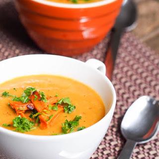 Creamy Vegan Parsnip and Shiitake Mushroom Soup {Gluten-Free} Recipe