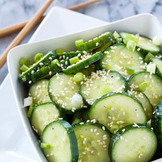 Cucumber Salad Rice Vinegar Soy Sauce Recipes