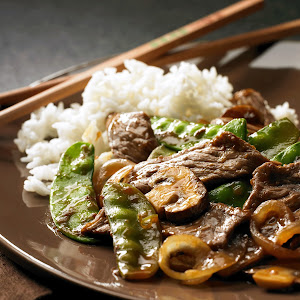 Beef and Snow Peas
