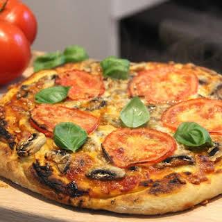 Crispy Light Homemade Pizza Dough.