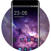 Theme for fancy space interstellar oppo r17 icon