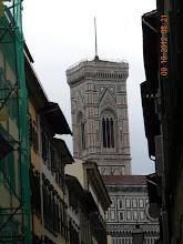 Photo: Tower of the Florence Cathedral (The Basilica di Santa Maria del Fiore)