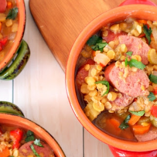 Slow Cooker Sausage and Lentil Soup Recipe