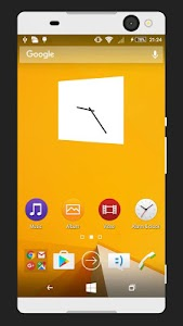 WP8 Yellow | Free Xperia Theme screenshot 0