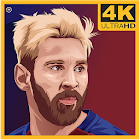 Messi Fan Art HD Wallpaper - Leo Wallpapers icon