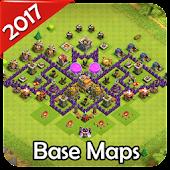 Tải New Base Maps for COC 2017 miễn phí