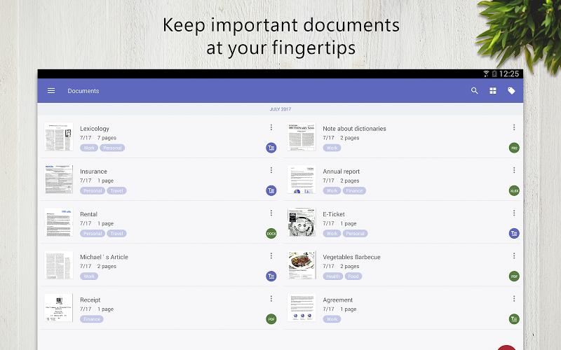 FineScanner Pro - PDF Document Scanner App + OCR Screenshot 7