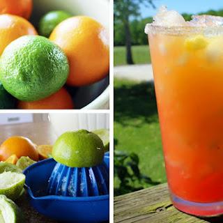 Sugar Sunset Margaritas.
