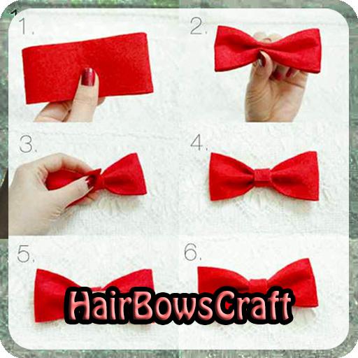 Hair Bows Craft