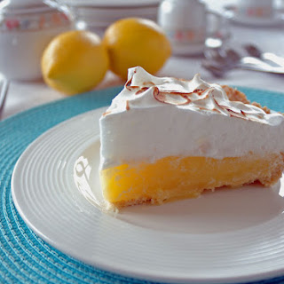 Lemon Meringue Pie with Easy Olive Oil Crust Recipe