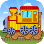 Trains Jigsaw Puzzles for Kids Icon