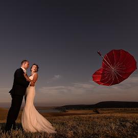by Iulian Besliu - Wedding Bride & Groom ( fotograf constanta )