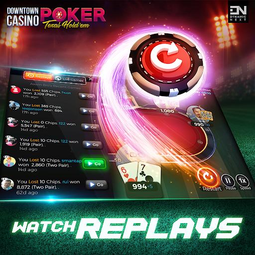 Free Poker Games : Downtown Casino - Texas Holdem  screenshots 2
