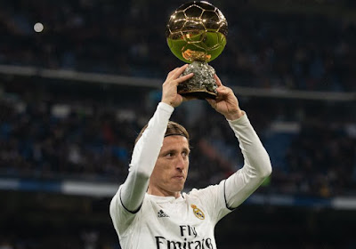 Luka Modric is drie tot vier weken out