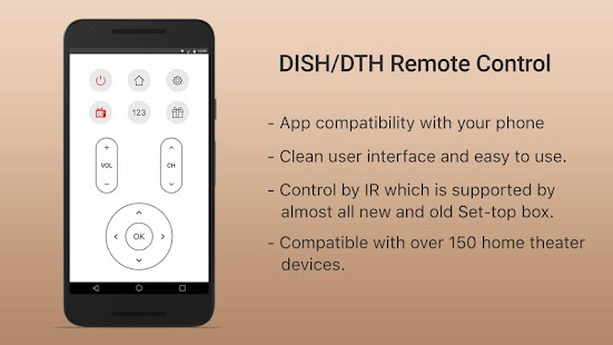 Download DISH/DTH Universal TV Remote 1 1 APK for Android