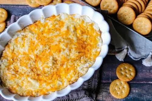 """Hot Crab Dip """"Sweet lump crab meat is the star ingredient in..."""