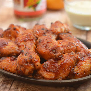 Mango Habanero Chicken Wings.
