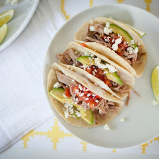 Slow-cooked Carnitas Tacos.