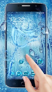 Water Drops Themes HD Wallpapers 3D icons 3