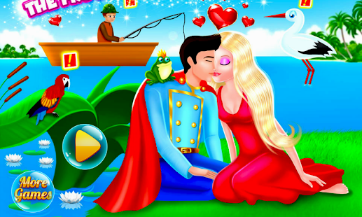 Tải Game Kissing the Frog Prince
