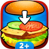 Baby kitchen game: Burger Chef