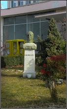 Photo: Turda - Piata 1 Decembrie 1918 - Portretul lui Mihai Eminescu - 2018.02.07