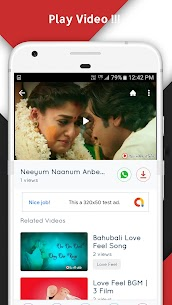 Tamil Love Video Status Songs App Download For Android and iPhone 4