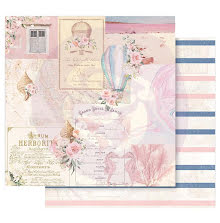 Prima Golden Coast Double-Sided Cardstock 12X12 - Up In The Air UTGÅENDE