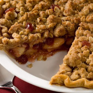 Apple Cranberry Streusel Pie Recipe