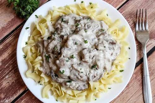 """Easy Stroganoff """"This dish was a huge hit for dinner. Great texture,..."""