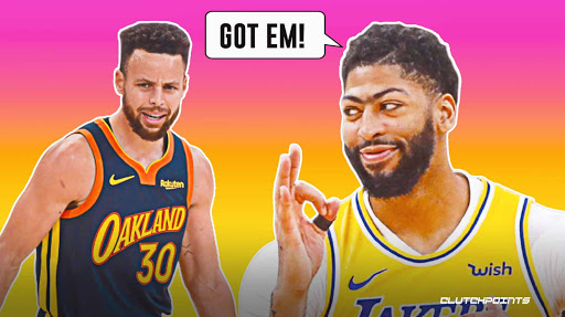 Lakers star Anthony Davis destroys Stephen Curry in incredibly NSFW way