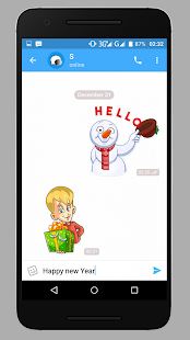 Messenger app 2018 - náhled