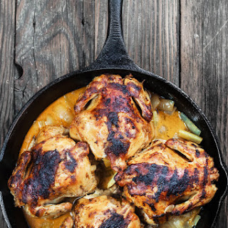 Cornish Hen Recipe with Mediterranean Garlic-Spice Rub
