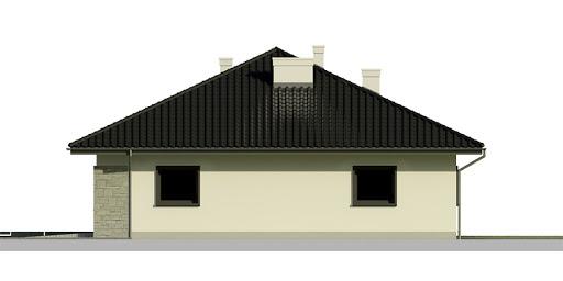 Dom przy Słonecznej 5 - Elewacja prawa