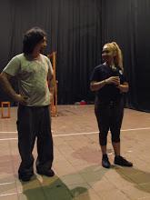 Photo: Pablo Gigena y Noé Andrade La Voragine (Tucumán, Argentina) Apertura del Festival Internacional de Teatro ARRE 2011