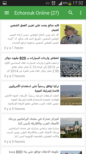 Presse Algerie screenshot 2