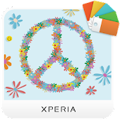 XPERIA™ Flower Power Theme