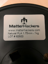 """Photo: We got a couple spools of MatterHackers' """"Pro"""" PLA to expand our color palette/hopefully have more consistent filament."""