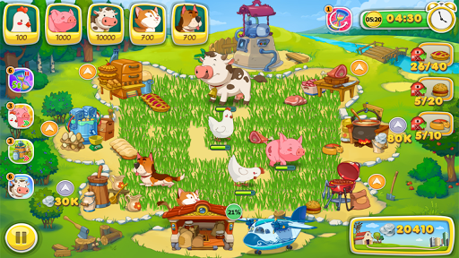 Jolly Days Farm: Time Management Game  screenshots 6