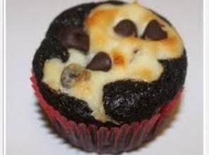 Yummy, Chocolaty Cream-cheese Filled Cupcake.