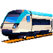 Trains Pixel Art: Color by Number,Sandbox Coloring