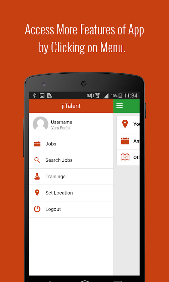jiTalent - Talent Search App- screenshot