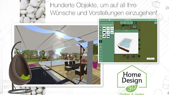 Home Design 3D Outdoor/Garden Screenshot